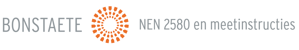NEN 2580 Meetinstructies